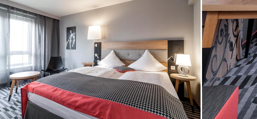 Cm design for Karlsruhe design hotel